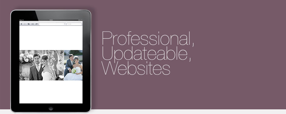 Professional, Updateable Websites. Includes FREE web hosting.